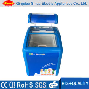 Ice Cream Freezer Special Sale, ETL Approved Chest Freezer, Curved Glass Door Freezer pictures & photos