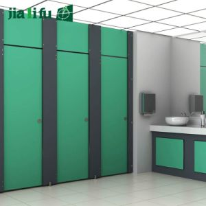 Jialifu High Density HPL Toilet Cubicle Partitions pictures & photos