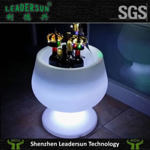 LED LDPE Ice Bucket for KTV Night Club LED Light Furniture LED Lighting LED Bulb