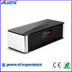 Multimedia Wireless Bluetooth Speaker with Display Alarm Clock