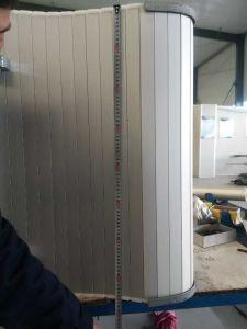Aluminum Rolling up Doors pictures & photos