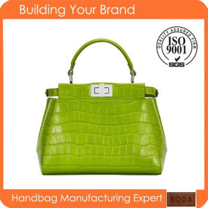 Wholesale Genuine Leather Lady Handbag pictures & photos