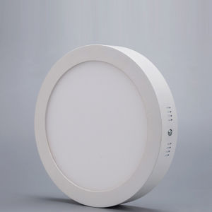 China Factory 12W LED Panel Light Price Round Ceiling Design pictures & photos