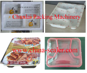 HS300 Food Plastic Tray Sealing Machine pictures & photos