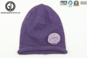 Newest Design Ladies Fashion Hat Winter Warm Knit Beanie Cap pictures & photos