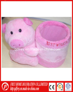 Hot Plush Pencile Holder Pig Toy pictures & photos