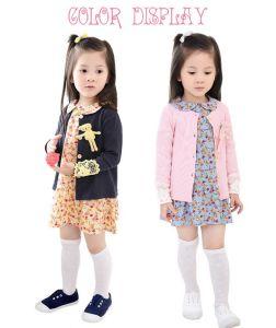 2015 Autumn Cotton Doll Kids Dress Suit with Little Bear Manufacturer pictures & photos