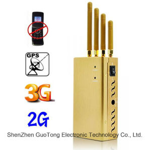 Mobile Phone 3G Signal Jammer GPS Signal Blocker Mobile Phone Jammer GSM 3G GPS Signal Block with Fans