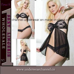 Wholesale Women Ladies Sexy Lingerie Underwear Set (TML8016) pictures & photos