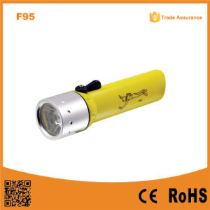 Underwater Waterproof Ipx8 Xre Q5 LED Diving Flashlight pictures & photos
