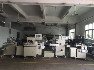 label Printing and Die Cutting Machine and Hot Stamping Machine