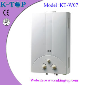 Anti-Dry Burning Gas Geyser with White Panel pictures & photos