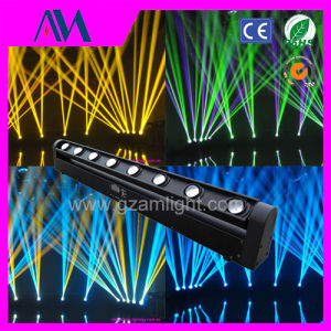 LED 8PCS*10W Full Color Scanning Beam Moving Head