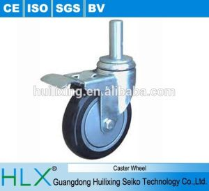 Industrial Rubber Nylon Swivel Adjustable Small Heavy Duty Caster Wheels pictures & photos