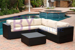 by-478 Black Sectional Garden Sofa Outdoor Furniture Philippines Manila pictures & photos