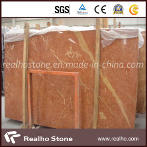 Interior Decoration Rojo Alicante Red Marble