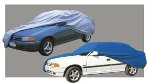 Folding Silver PEVA Sun Car Cover pictures & photos