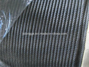 High Quanlty Wire Rope, Steel Wire Rope for Elevator 8*19s+NF pictures & photos