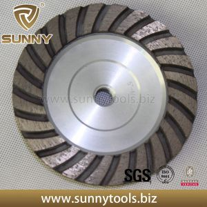 Professional Sunny High Quality Diamond Grinding Turbo Cup Wheel pictures & photos
