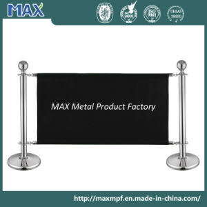Stainless Steel Adjustable Banner Stanchion pictures & photos