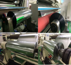 Package Grade Metallized Pet Film Rolls pictures & photos