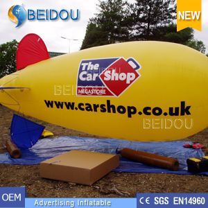 Lighted Air Helium Balloon Advertising Inflatable RC Blimp Airship