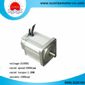 80bls3a140 310VDC 500W 3000rpm Brushless (BLDC) DC Motor pictures & photos