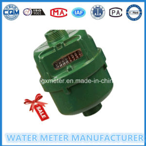 Green Color Painting Volumetric Water Meter (Dn15-25mm) pictures & photos