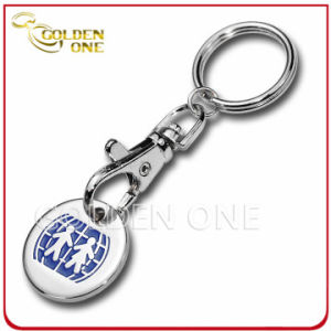 Promotional Metal Soft Enamel Trolley Coin Keyring pictures & photos