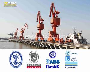 Ship Unloading Marine Port Cranes with Hydraulic Grapple Bucket