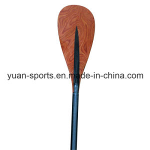 Bamboo Veneer Surface Full Carbon Paddle for Sup Board pictures & photos