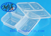SGS Certificated Transparent Plastic Lunch Box