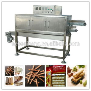 China Double-Way&Double-Color Wafer Stick/Egg Roll Production Line pictures & photos
