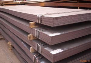 Hot Rolled Hot Working Steel Plate pictures & photos