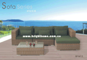 Hot Sale Sofa Set Wicker Furniture Outdoor Patio Furniture Bp-M12 pictures & photos