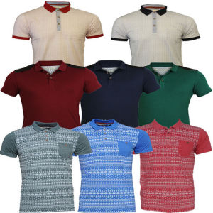 Men`S Short Sleeve Polo Shirt with Pocket pictures & photos