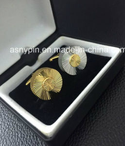 High Quality Brass Cufflink Set pictures & photos