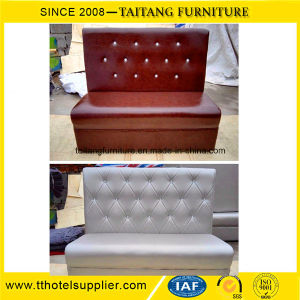 Commercial Single Side Restaurant Fast Food Sofa pictures & photos