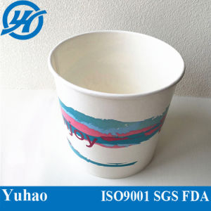 Disposable Plastic Cold Coffee Cup, Ice Cream Cup for Cover&Flat Lid pictures & photos
