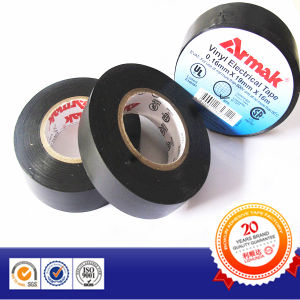 Embossing Logo OEM PVC Insulation Tape pictures & photos