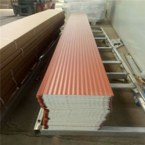 External Wall Decorative Insulated Embossed Sandwich Panel pictures & photos
