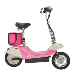 "12"" Foldable Electric Mobility Scooter with Disk Brake (MES-350-1) pictures & photos"
