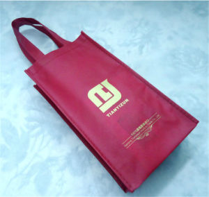 Recyclable Outdoor Food and Wine Cooler Bag (MECO482) pictures & photos