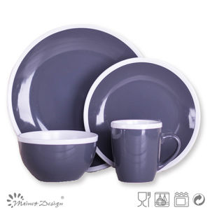 Bicolor Ceramic Special Crokery Dinner Set pictures & photos