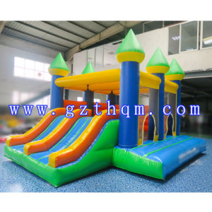 Inflatable Bouncer House with Slide/ Customized Theme Inflatable Kids Bouncer House pictures & photos