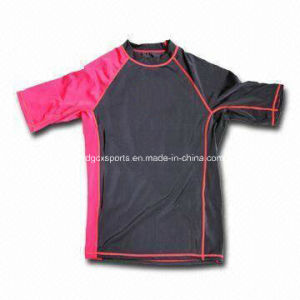 Proffessional High Quality Kid Lycra Rash Guard pictures & photos