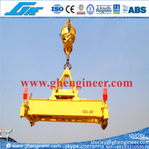 40t Telescopic Electrical Hydraulic Container Spreader pictures & photos