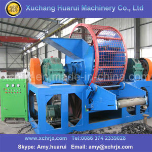 Automatic Waster Tyre Recycling Line/Rubber Powder Machine/Tyre Crushing Machine pictures & photos