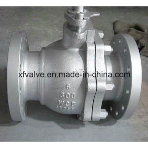 Cast Carbon Steel WCB Floating Type Flange End Ball Valve
