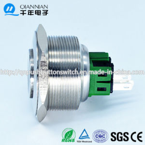 Qn30-B3 Qn30-B3 30mm Momentary|Latching High Concave Head Stainless Push Button Switch pictures & photos
